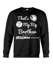 Baseball T Shirt For Kids Big Brother Crewneck Sweatshirt thumbnail