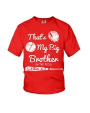 Baseball T Shirt For Kids Big Brother Youth T-Shirt thumbnail