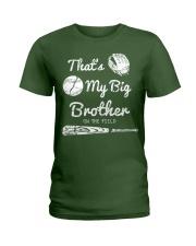 Baseball T Shirt For Kids Big Brother Ladies T-Shirt thumbnail