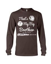Baseball T Shirt For Kids Big Brother Long Sleeve Tee thumbnail