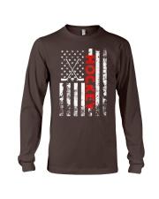 American Flag Hockey USA Patriotic Long Sleeve Tee thumbnail