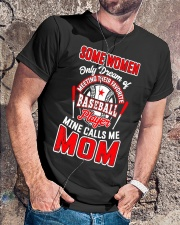 Baseball Shirt For Mom Classic T-Shirt lifestyle-mens-crewneck-front-4