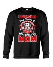 Baseball Shirt For Mom Crewneck Sweatshirt thumbnail