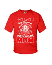 Baseball Shirt For Mom Youth T-Shirt thumbnail
