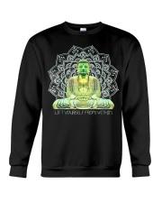 Green Buddha Bodhisattva in Meditation T-Shirt Crewneck Sweatshirt thumbnail