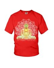 Green Buddha Bodhisattva in Meditation T-Shirt Youth T-Shirt thumbnail