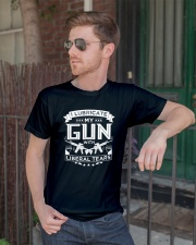 Pro Gun Second Amendment Liberal Tears  Classic T-Shirt lifestyle-mens-crewneck-front-2
