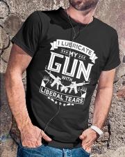 Pro Gun Second Amendment Liberal Tears  Classic T-Shirt lifestyle-mens-crewneck-front-4