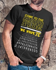 Come To The Math Side We Have Pi Classic T-Shirt lifestyle-mens-crewneck-front-4