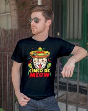 Cinco de Meow Mayo T shirt Classic T-Shirt lifestyle-mens-crewneck-front-2