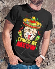 Cinco de Meow Mayo T shirt Classic T-Shirt lifestyle-mens-crewneck-front-4