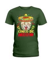 Cinco de Meow Mayo T shirt Ladies T-Shirt thumbnail