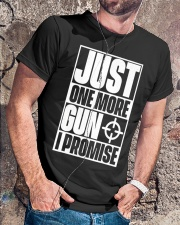 Just One More Gun  I Promise Classic T-Shirt lifestyle-mens-crewneck-front-4