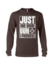 Just One More Gun  I Promise Long Sleeve Tee thumbnail