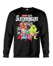 Slothvengers Avensloth Funny T-Shirt Crewneck Sweatshirt thumbnail
