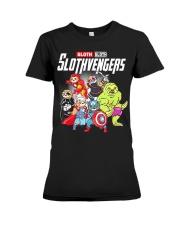 Slothvengers Avensloth Funny T-Shirt Premium Fit Ladies Tee thumbnail