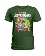 Slothvengers Avensloth Funny T-Shirt Ladies T-Shirt thumbnail