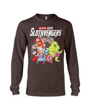 Slothvengers Avensloth Funny T-Shirt Long Sleeve Tee thumbnail