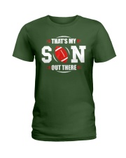 That's My Son Out There Football T-Shirt  Ladies T-Shirt thumbnail