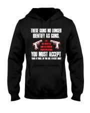 These Guns No Longer Identify As Guns  Hooded Sweatshirt thumbnail