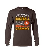 My Favorite Baseball Player Calls Me Grammy Tshirt Long Sleeve Tee thumbnail