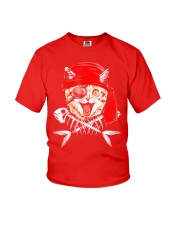 Cat Pirate T shirt Youth T-Shirt tile