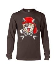 Cat Pirate T shirt Long Sleeve Tee thumbnail