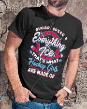 Ice Hockey Girls Shirt Classic T-Shirt lifestyle-mens-crewneck-front-4