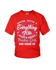 Ice Hockey Girls Shirt Youth T-Shirt thumbnail