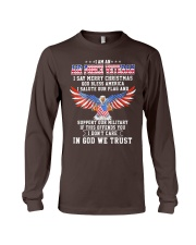 I am an Air Force Veteran T-shirt Long Sleeve Tee thumbnail
