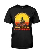 Buddha Yoga Buddhism Zen T-Shirt Classic T-Shirt front