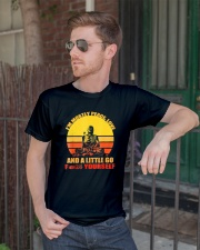 Buddha Yoga Buddhism Zen T-Shirt Classic T-Shirt lifestyle-mens-crewneck-front-2