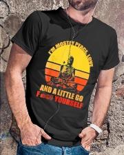 Buddha Yoga Buddhism Zen T-Shirt Classic T-Shirt lifestyle-mens-crewneck-front-4