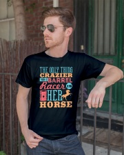 Barrel Racing Shirt Classic T-Shirt lifestyle-mens-crewneck-front-2