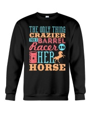 Barrel Racing Shirt Crewneck Sweatshirt tile