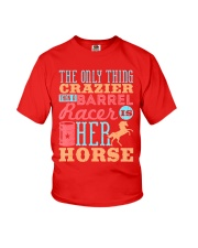 Barrel Racing Shirt Youth T-Shirt tile