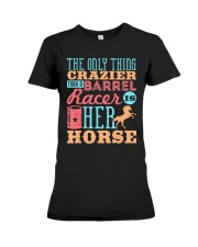 Barrel Racing Shirt Premium Fit Ladies Tee thumbnail