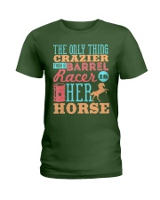 Barrel Racing Shirt Ladies T-Shirt thumbnail