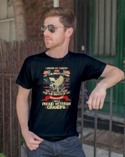 I SERVED MY COUNTRY FOR MY CHILDREN'S FUTURE Classic T-Shirt lifestyle-mens-crewneck-front-2