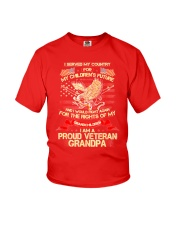 I SERVED MY COUNTRY FOR MY CHILDREN'S FUTURE Youth T-Shirt thumbnail