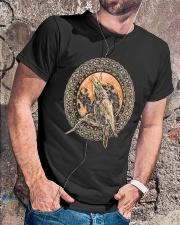 ODIN'S RAVENS VIKING T-SHIRT Classic T-Shirt lifestyle-mens-crewneck-front-4