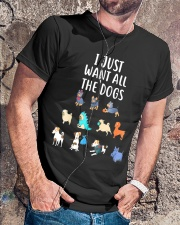 I Just Want All The Dogs T-Shirt Classic T-Shirt lifestyle-mens-crewneck-front-4