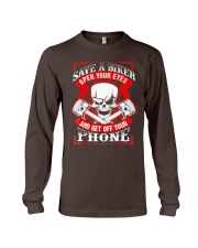 Motorcycle Awareness T-Shirt Save a Biker Long Sleeve Tee thumbnail