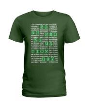 Nerdy Geeky Algebra Teacher Ladies T-Shirt thumbnail