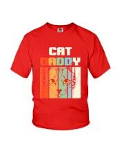 Retro Cat Daddy Youth T-Shirt thumbnail