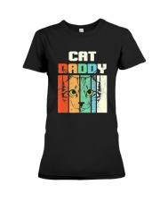 Retro Cat Daddy Premium Fit Ladies Tee thumbnail