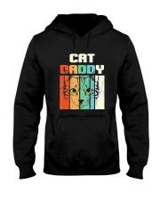 Retro Cat Daddy Hooded Sweatshirt thumbnail
