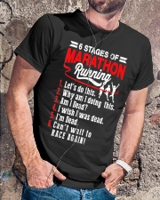 6 Stages of Marathon Running T-Shirt Classic T-Shirt lifestyle-mens-crewneck-front-4