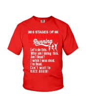 6 Stages of Marathon Running T-Shirt Youth T-Shirt thumbnail