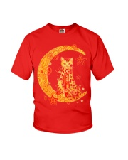 MIAPRINTSPRO Cat On The Moon Shirt Youth T-Shirt tile